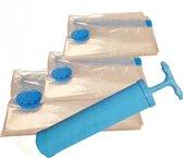 Vacuüm 6 opbergzakken met pomp stof vrij en ruimtebesparend opbergen