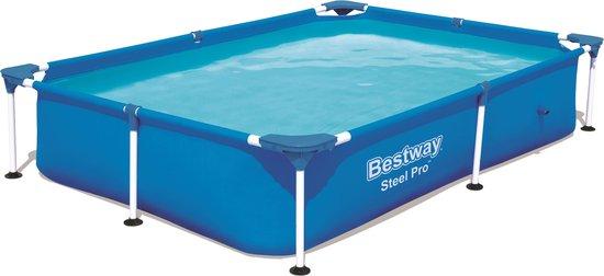 Bestway - Steel Pro Opzetzwembad - 221 x 150 x 43 cm