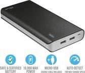 Trust Powerbank 16000 MAH Externe Batterij