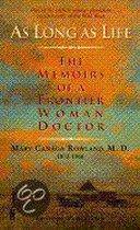 Boek cover As Long As Life van Mary C. Rowland
