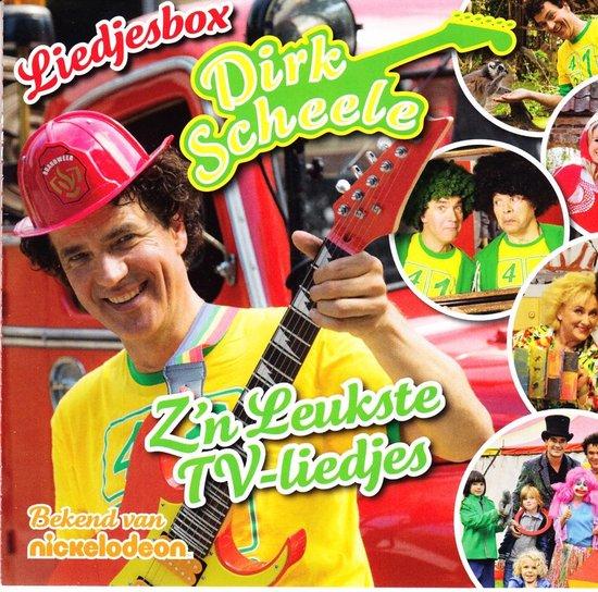 CD cover van Scheele Dirk - Liedjesbox - Zn Leukste Tv-Liedjes van Dirk Scheele