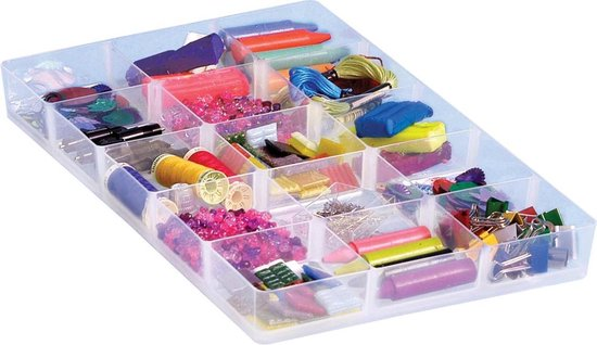 13x Really Useful Box hobby divider met 15 vakjes, voor 4 liter of 9 liter