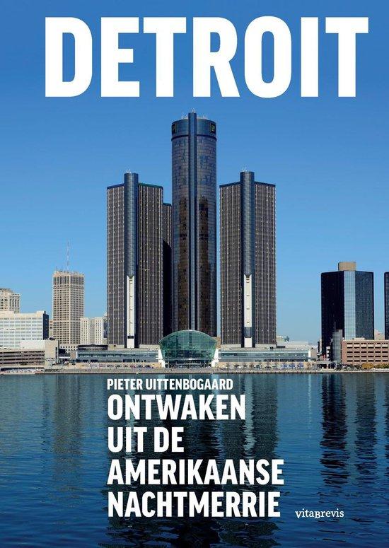 Boek cover Detroit van Pieter Uittenbogaard (Paperback)