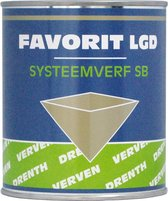 Favorit LGD Systeemverf SB 1 liter wit