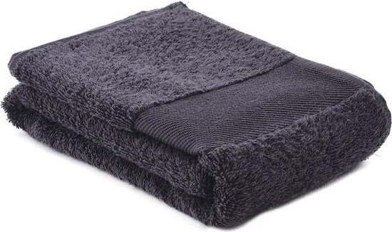 Arowell Sporthanddoek Fitness Handdoek 130 x 30 cm - 500 Gram - Donkergrijs - 5 stuks