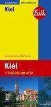 Falk Stadtplan Extra Standardfaltung Kiel 1 : 17 500