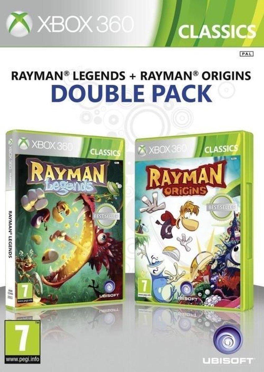 Rayman Legend + Rayman Origins  Xbox 360 - Ubisoft