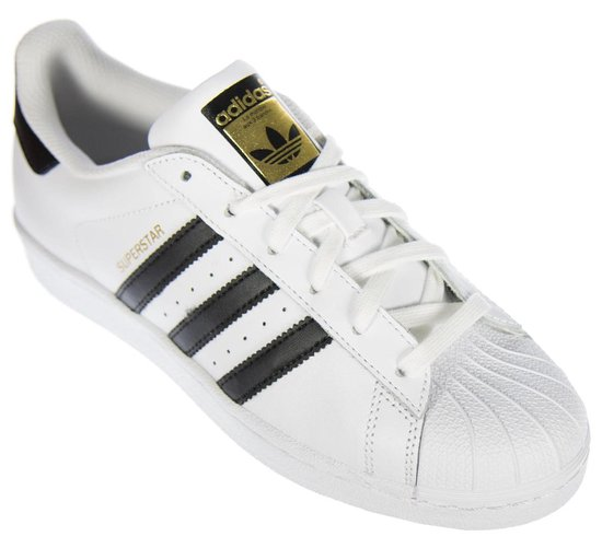 adidas superstar dames wit zwart