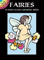 Fairies Stained Glass Coloring Book