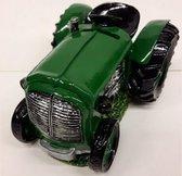 Grote spaarpot tractor groen