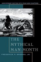 Boek cover The Mythical Man-Month : Essays on Software Engineering, Anniversary Edition van Frederick Brooks Jr. (Paperback)