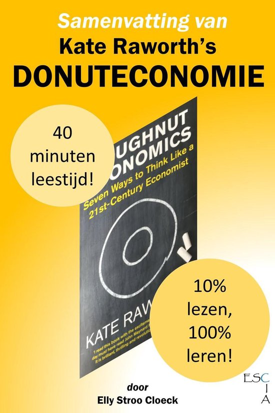 Boek cover GRC Collectie - Samenvatting van Kate Raworths Donuteconomie van Elly Stroo Cloeck (Onbekend)