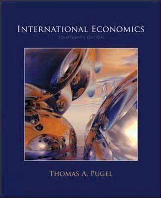 Boek cover International Economics van Thomas A. Pugel (Hardcover)