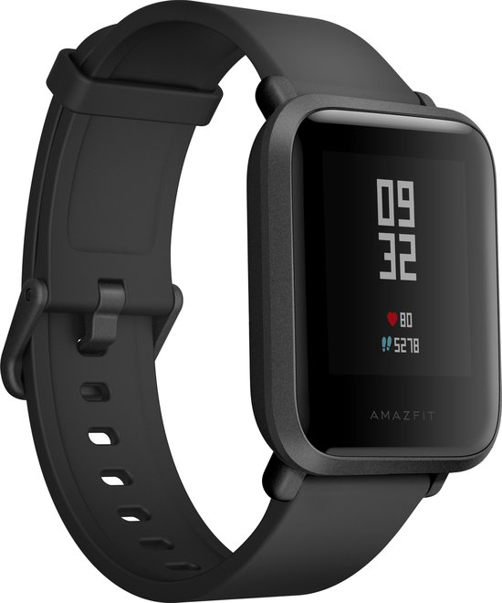 Xiaomi Huami Amazfit BIP - Smartwatch - Zwart