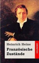 Boek cover Franz sische Zust nde van Heinrich Heine