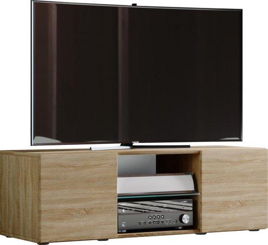 Zelfbouw Tv Kast.Bol Com Tv Meubel Kast Lowina 115 Cm Sonoma Eiken