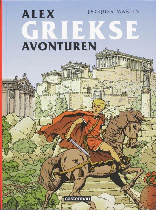 Cover van het boek 'Alex bundel / Griekse avonturen'
