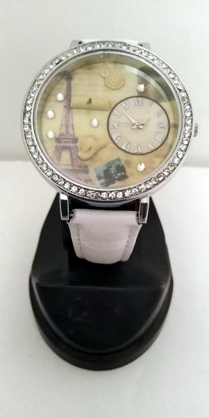 Modieus horloge met Eiffeltoren