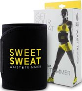 Sweet Sweat Waist Trimmer - Waist Trainer - Afslankband - Waist Shaper - Sauna Belt Geel