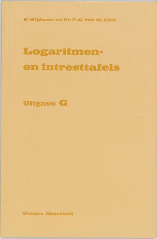 Logaritmen- en intresttafels - P. Wijdenes |
