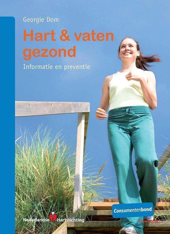 Cover van het boek 'Hart & vaten gezond' van G. Dom