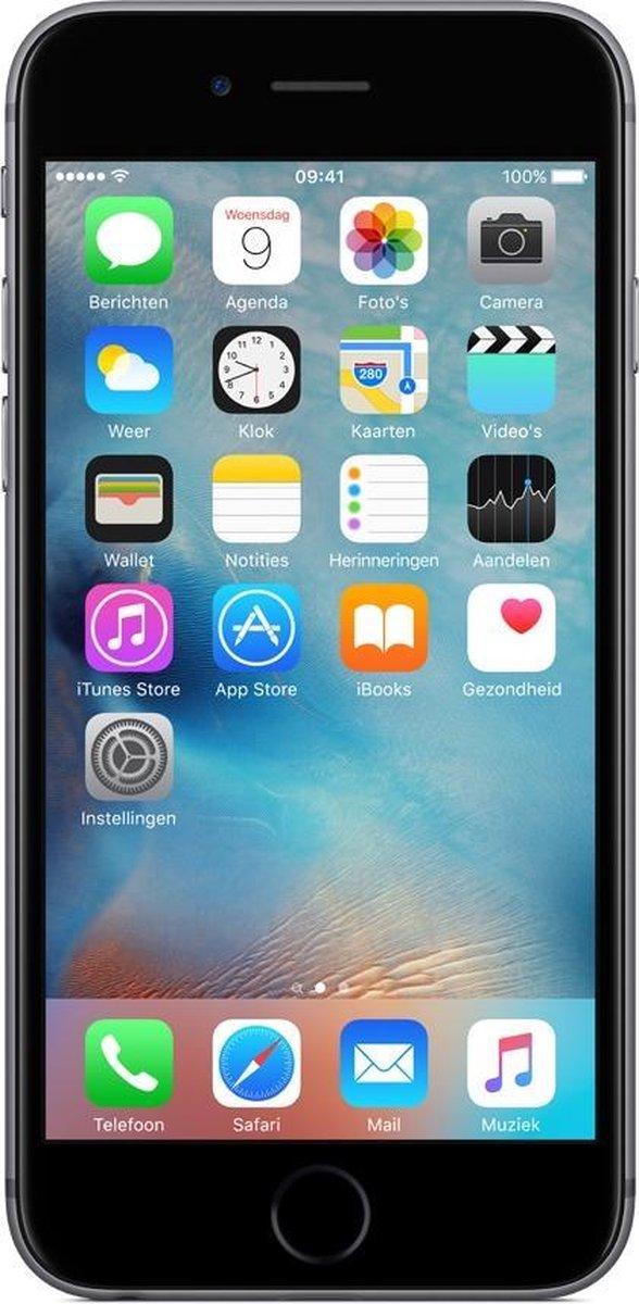 Apple iPhone 6S - Refurbished door Forza - A grade (Zo goed als nieuw) - 16GB - Zwart