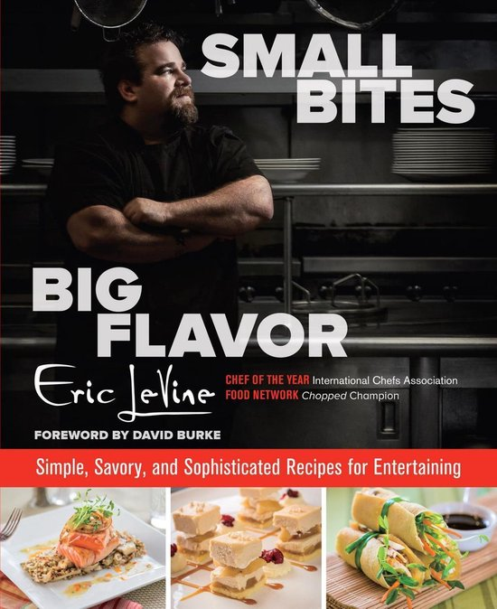 Boek cover Small Bites Big Flavor van Eric Levine (Onbekend)