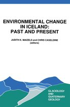 Environmental Change in Iceland: Past and Present