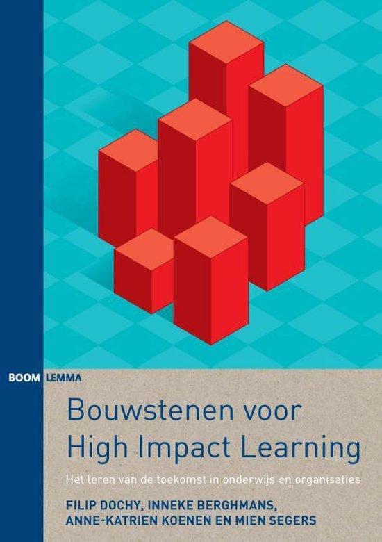 Bouwstenen voor high impact learning - Filip Dochy |