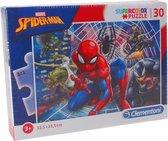 Clementoni Puzzel Supercolor Puzzle Spider-man 30 Stukjes