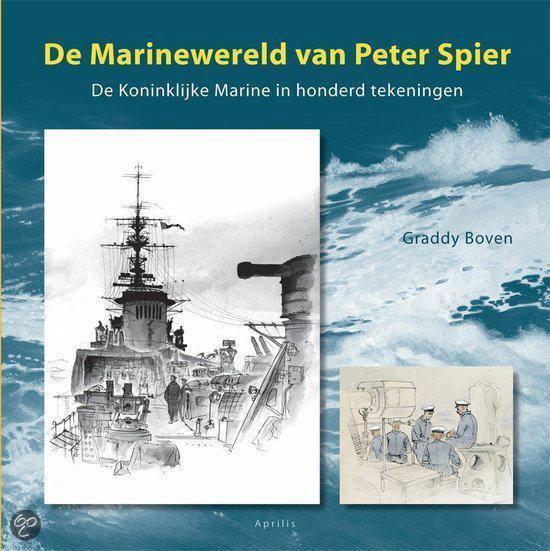 Cover van het boek 'De Marinewereld van Peter Spier' van G. Boven