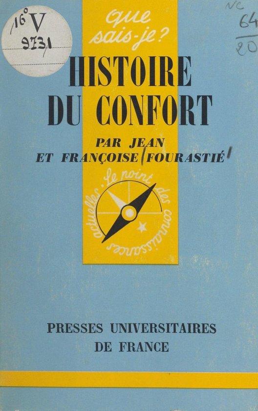 Histoire du confort