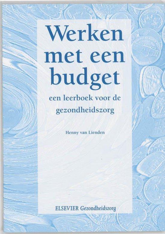 Werken met een budget - Henny van Lienden |