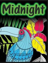 Midnight Coloring Books for Adults