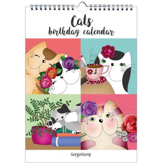 Sonja Kemp Katten verjaardagskalender