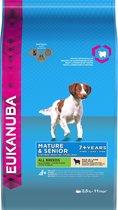 Eukanuba Dog Mature & Senior - All Breeds - Lam/Rijst - Hondenvoer - 2.5 kg