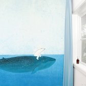 KEK Amsterdam Riding the Whale - Fotobehang - Full Color