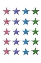 Glitter Stars Notebook