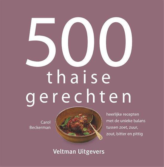 Boek cover 500 thaise gerechten van Carol Beckerman (Hardcover)