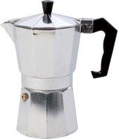 Espressomaker aluminium 6 kops