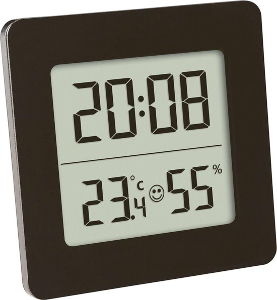 TFA digitale thermo hygrometer - vierkant
