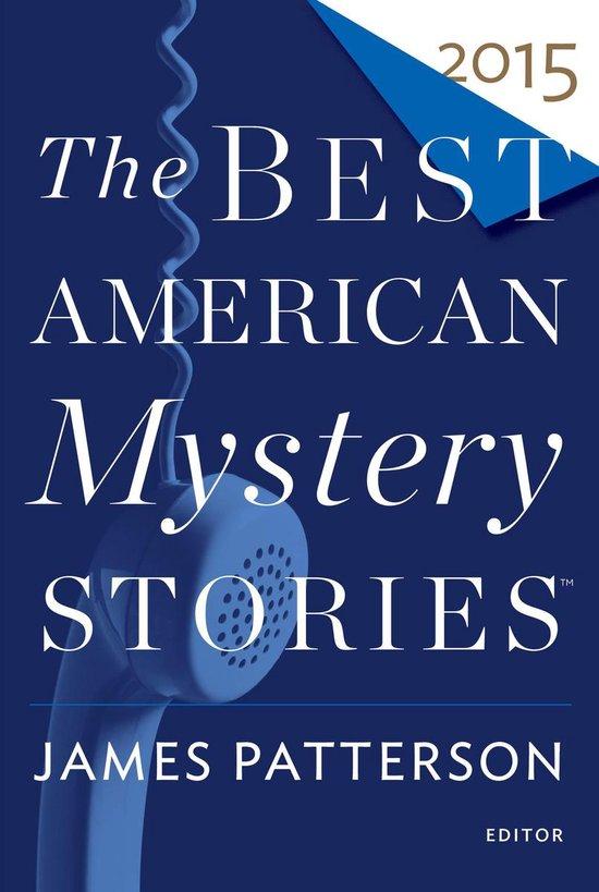 Omslag van The Best American Mystery Stories 2015