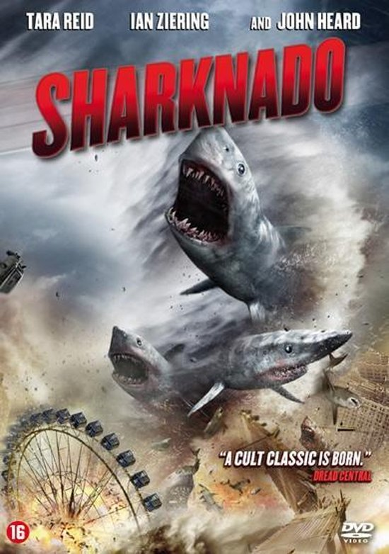 Cover van de film 'Sharknado'