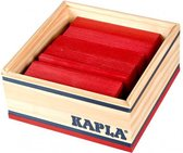Afbeelding van KAPLA Kleur - 40 Plankjes - Rood speelgoed