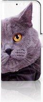 Huawei Mate 10 Lite Uniek Boekhoesje Kat