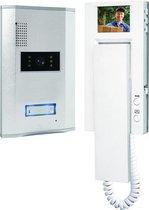 Smartwares VD61 - Video deurintercom set voor 1 appartement - 4 draads - 2-weg audio communicatie - Wit