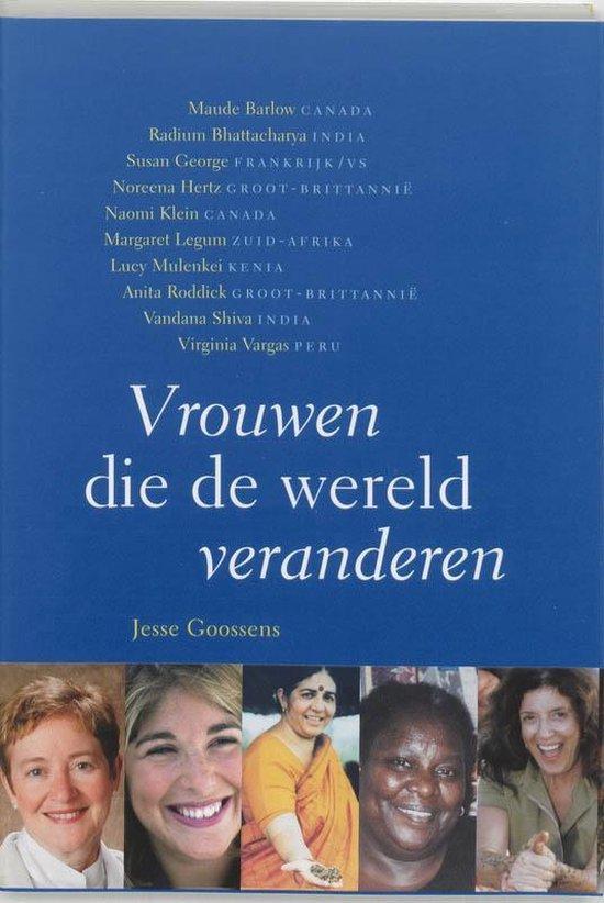 Vrouwen die de wereld veranderen - Jesse Goossens |