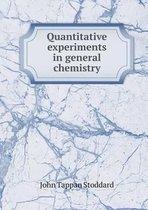 Quantitative Experiments in General Chemistry