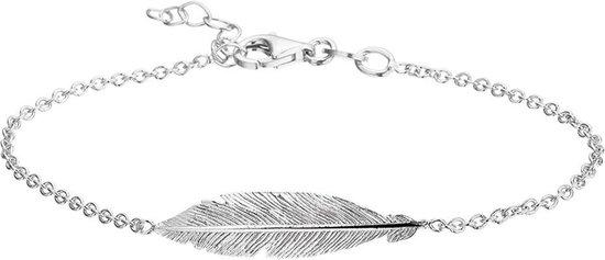 Glams Armband Veer 1,8 mm 16,5 + 2,5 cm - Zilver