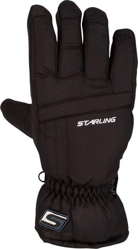 Starling Taslan 0431 Zwart - Wintersporthandschoenen - Unisex - Zwart - Maat 10